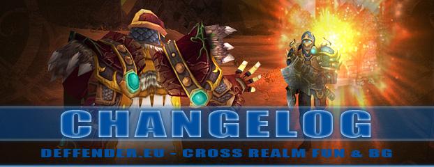 Deffender.eu - Cross Realm CHANGELOG